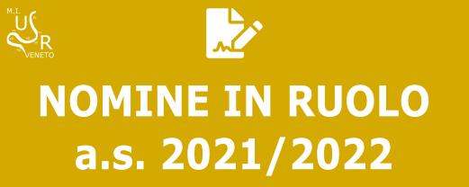 Nomine in ruolo 2021/22
